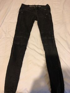 RVCA washed out black jeans