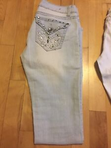 4 Jeans (size 5)  american eagle, ecko