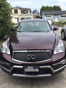Infinity QX50 2017 lease transfer - $4000 (White Rock)