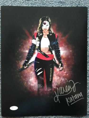 Suicide Squad Karen Fukuhara Autographed Signed 11x14 Photo JSA COA #1