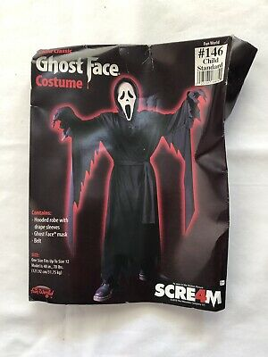 Ghost Face Costume Scream 4 Child Costume