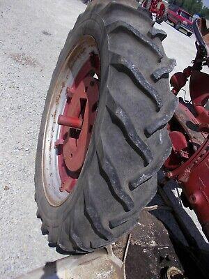 1 12.4 X 38 Tractor Power Mark Tire 55 Wigglebar Tread Ih H Sh M Sm Jd B A Rim