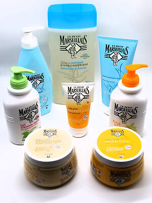 Body Products Gift - Le Petit Marseillais Hand/Body Moisturizer Lotions, 8 Products Holiday Gift Set!