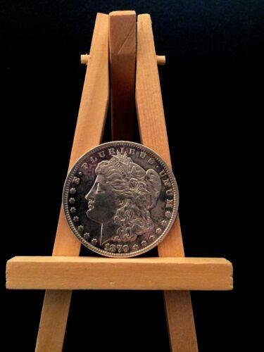 1879 MORGAN ONE SILVER DOLLAR E PLURIBUS UNUM UNITED STATES OF AMERICA