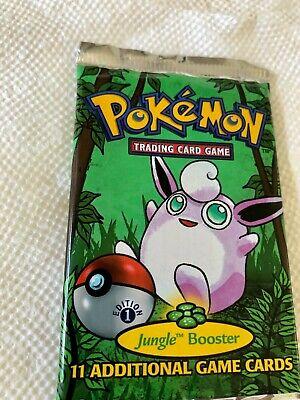 Pokemon Jungle Booster Pack - Factory Sealed! Wigglytuff Artwork. Vintage-RARE