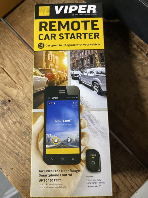 Viper DS4+ Remote Start System DS4VB New in box