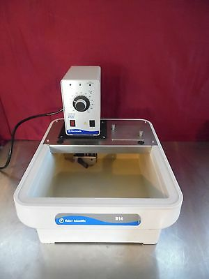 Fisher Scientific B14 Heated Water Bath With Isotemp 2100 Circulating Pump