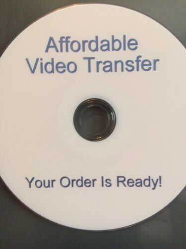 LT Affordable Video Transfer, Your Order Is Ready!