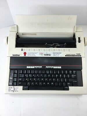 Brother Correctronic 320 Electric Typewriter Tested Working Will Need Cleaning