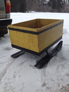 For sale skidoo boose trailer
