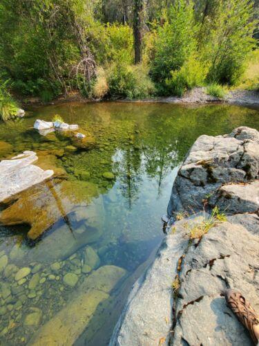 20 ACRE GOLD MINING CLAIM - Squaw Creek - Shasta CALIFORNIA Unpatented mine land