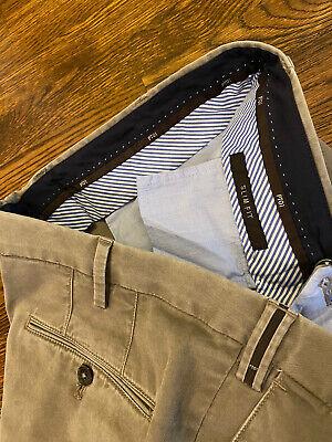 PT01 Mens- Slim Fit Pants Cotton Blend 38x32