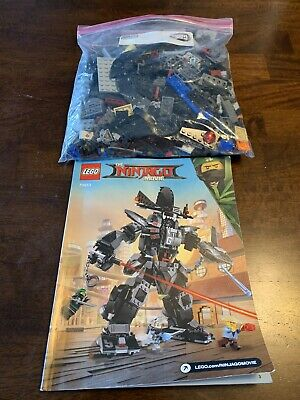Lego 70613 GARMA MECHA MAN The Ninjago Movie Building Set + instruction manual