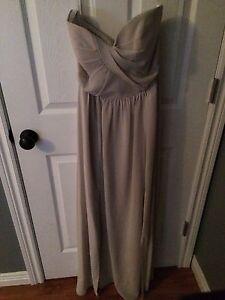 Floor length strapless dress  St. John's Newfoundland image 1