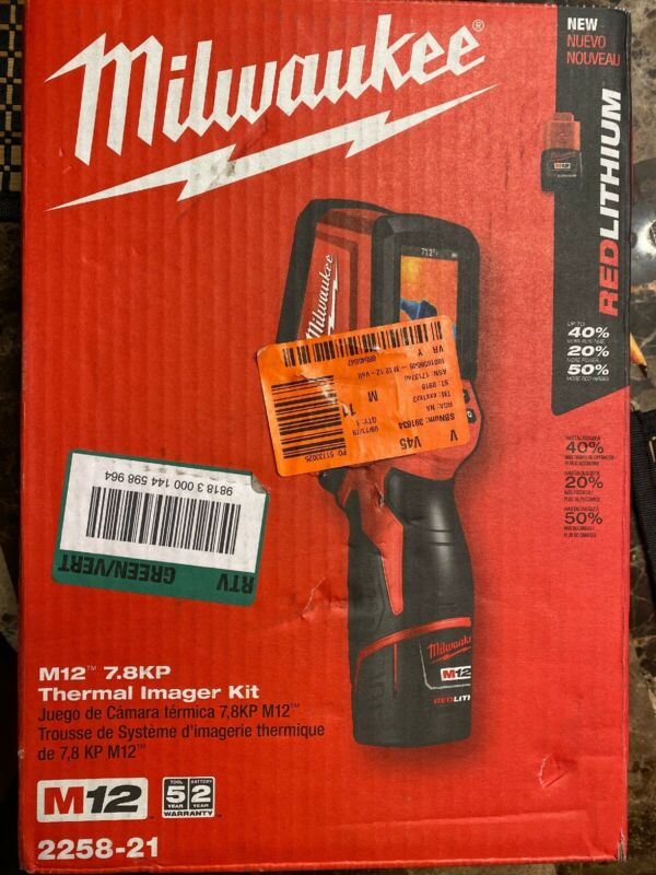 Milwaukee 2258-21 M12 7.8KP Thermal Imager Kit