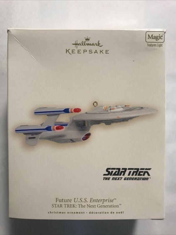 Hallmark Keepsake Ornament Star Trek Future U.S.S. Enterprise Next Generation