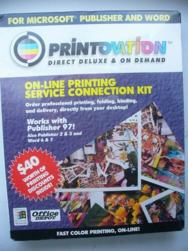 Vintage computer software PRINTOVATION Utility  printing software  - SEALED