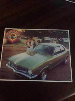 Original Trax Tin Plate & Scale Models Iconic Holden Memorabilia