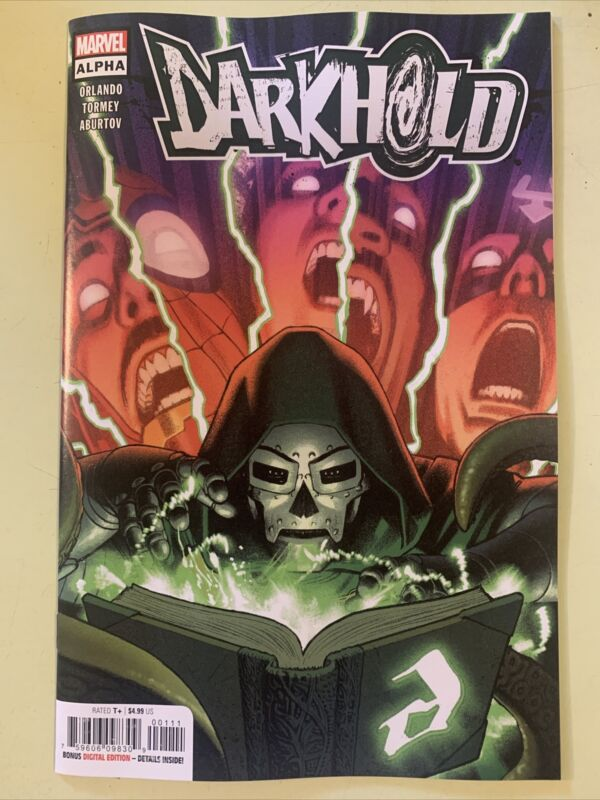 DARKHOLD ALPHA #1 MARVEL HOHC 2021 (See Pictures)