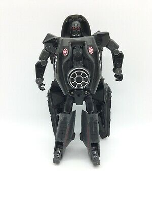 "Transformers Star Wars Crossovers DARTH VADER 7"" Figure 2005 SITH STARFIGHTER ()"