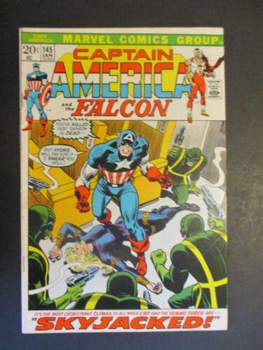 Captain America 145  Bronze Age Marvel Comic