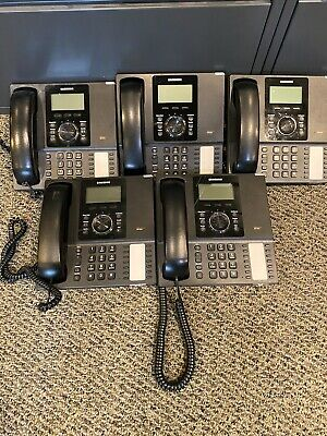 Lot Of 5 Samsung Smt-i5210 Ip Multi-line Business Phone With New Handset Cord
