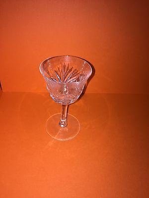 NACHTMANN crystal NIERSTEIN pattern WINE GOBLET or GLASS