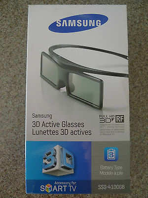NEW SSG-4100GB SAMSUNG 3D SMART TV ACTIVE GLASSES FULL HD (One Pair)