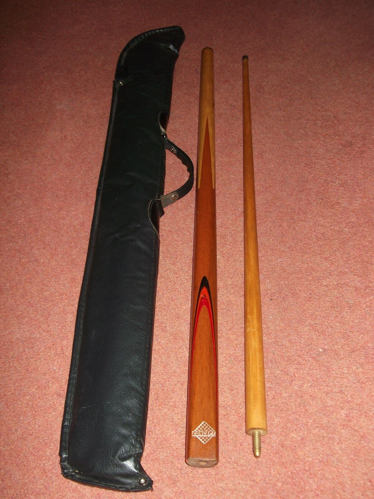 SNOOKER CUE AND CASE CONCEPT