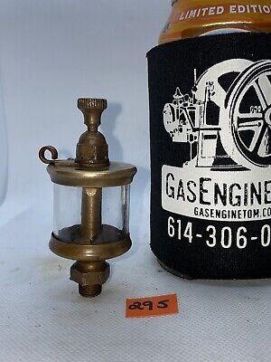 Small Lunkenheimer Brass Oiler For Hit Miss Gas Engine Vintage Antique