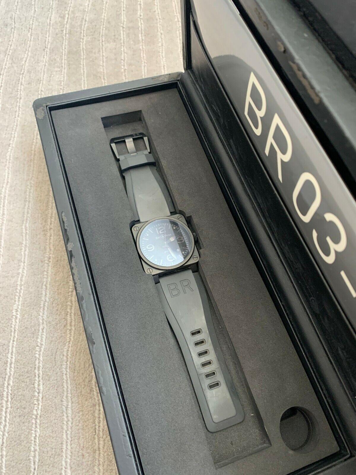 Bell & Ross Phantom BR03-92 matt black 42mm watch - watch picture 1