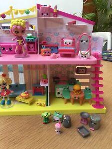 Shopkins house furniture with dolls Kogarah Bay Kogarah Area Preview