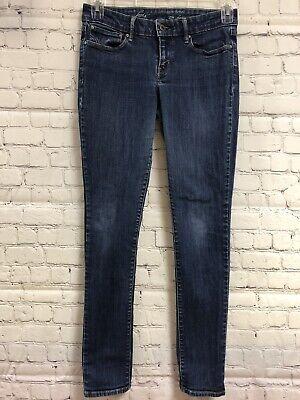 "Levis Demi Curve Size 28 Skinny Stretch Blue Jeans 5 Pocket 31"" Inseam Curved Pocket Jeans"