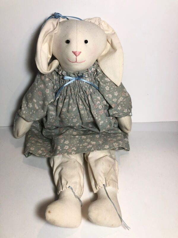 """20"""" Country Bunny Rabbit Craft Doll"""