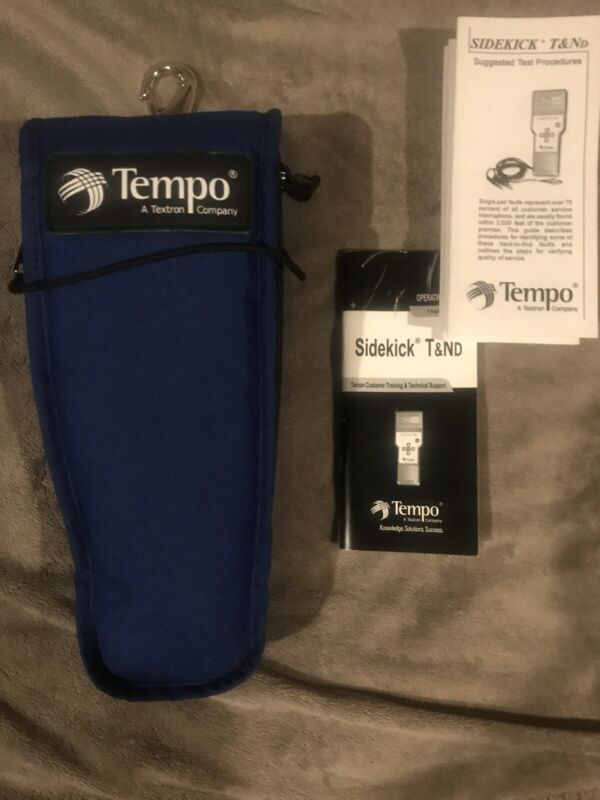✔ Tempo SideKick T&ND 1144-5000 TELCO Digital Test Set ✔