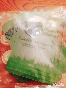 Health planet reusable food pouches 6pk London Ontario image 1