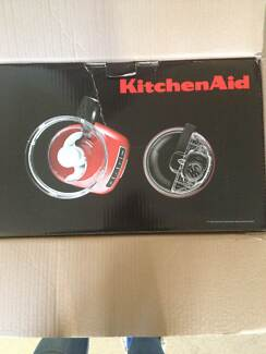 Kitchen Aid Red 13 cup Food Processor Elanora Heights Pittwater Area Preview