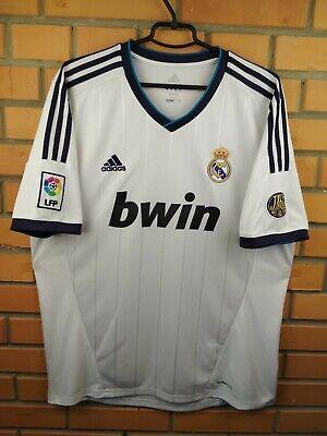 137533ad5 Real Madrid jersey XL 2012 2013 home shirt soccer football Adidas