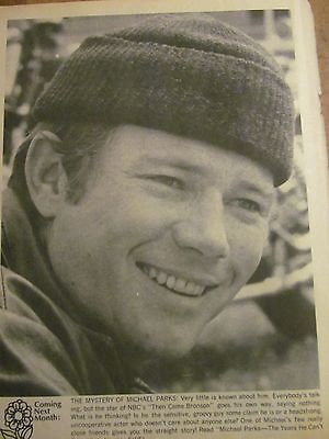 Michael Parks, Full Page Vintage Pinup