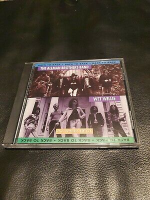 ALLMAN BROTHERS BAND WET WILLIE Back to Back Hits 1996 At their Best of CD