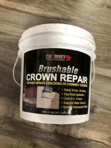 Chimney RX Brushable Chimney Crown Repair 1 Gallon