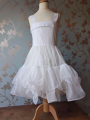 SALE Jottum dress SILVA white size 140 - 10 agan communion wedding party  - Communion Dress Sale