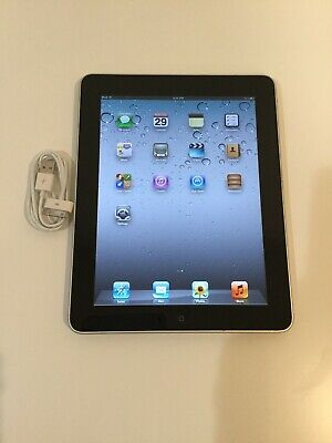 Apple iPad 1st Generation 64GB, Wi-Fi, 9.7in - Black - Good Working Condition