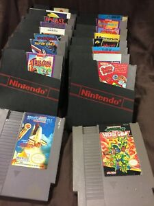 Nes games for sale prices listed in add