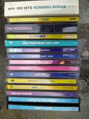 Pop Dance Compilation CD's x 14 (32 Discs) In Good Condition comprar usado  Enviando para Brazil