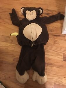 Monkey Halloween Costume 18-24 months