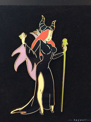 Disney Shopping JESSICA RABBIT DRESSED AS MALEFICENT Halloween Costume LE Pin