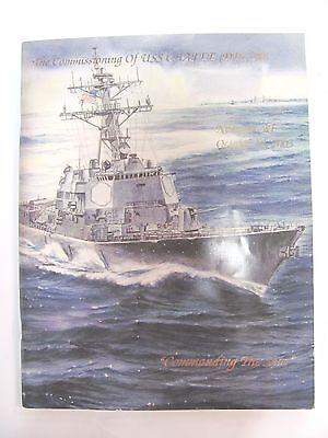 US NAVY DDG-90 USS CHAFEE COMMISSIONING PROGRAM 2003 Newport FREE SHIPPING