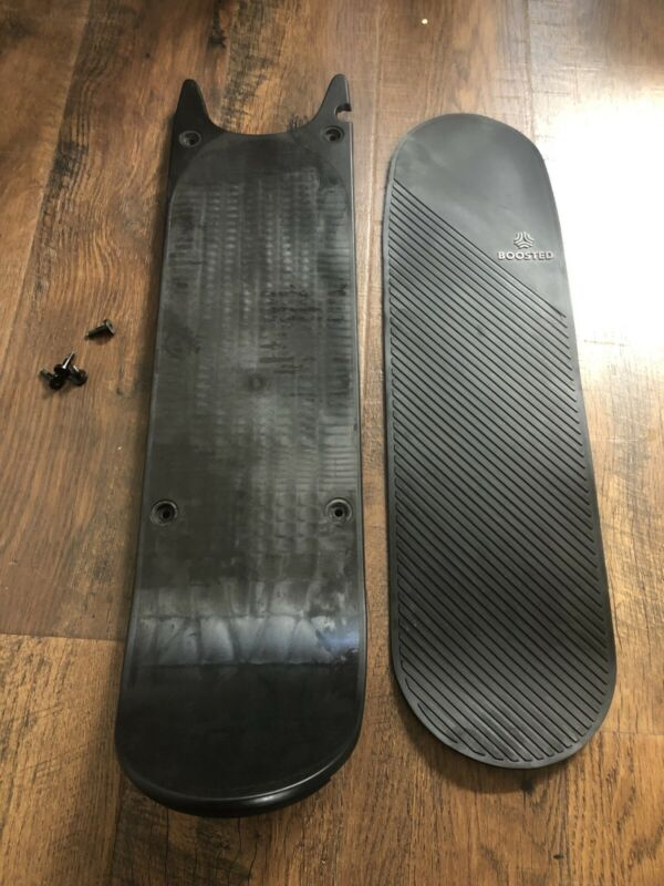 BOOSTED REV SCOOTER  Deck Original Oem With Rubber Pad Screws Scooter Deck