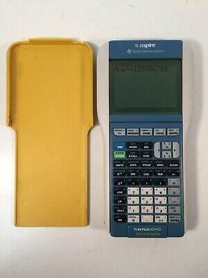 TI-Nspire Graphing Calculator TI-84 Plus Texas Instruments Cover School Edition